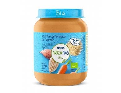 Nestle Naturnes Bio Βρεφικό γεύμα Κους-Κους με Κοτόπουλο & Λαχανικά 190gr
