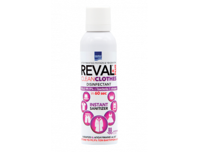 InterMed Reval Plus Clean Clothes Lavender, Απολυμαντικό Ρούχων & Υφασμάτων με Άρωμα Λεβάντα, 200ml