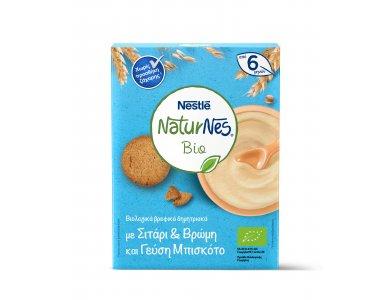 Nestle Naturnes Bio Δημητριακά Σιτάρι & Βρώμη & Μπισκότο 200gr