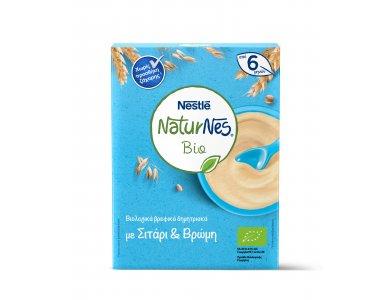Nestle Naturnes Bio Δημητριακά Σιτάρι & Βρώμη 200gr