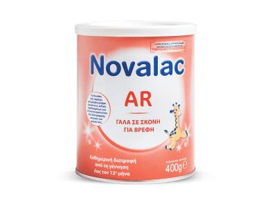 Novalac AR Βρεφικό Γάλα για μέτριες ή ήπιες αναγωγές κατάλληλο για βρέφη από τη στιγμή της γέννησης, 400gr