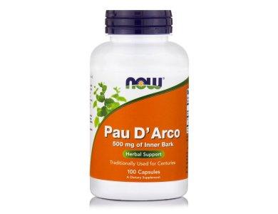 Now Pau D' Arco 500mg,  100caps