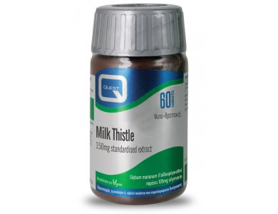 Quest Milk Thistle 150mg Extract 60tabs