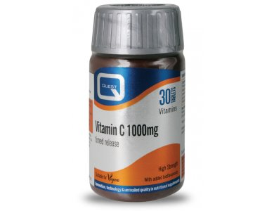 Quest Vitamin C 1000mg Timed Release 30tabs