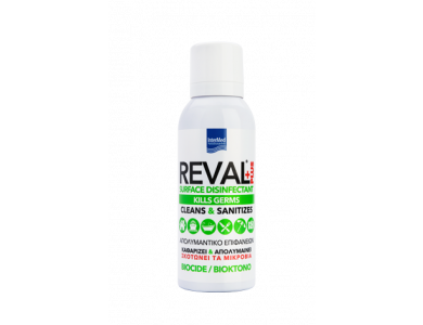 InterMed Reval Plus Spray Surface Disinfectant, Απολυμαντικό Επιφανειών, 100ml