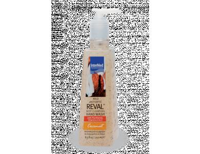 InterMed Reval Mild Antiseptic Deep Cleansing Hand Wash Coconut, Αντισηπτικό Τζελ & Καθαρισμός Χεριών με Άρωμα Καρύδα, 250ml