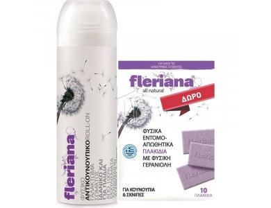 Power Health Fleriana Roll-On 100ml + Δώρο Εντομοαπωθητικά Πλακίδια 10τμχ