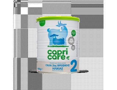 Capricare 2 Βρεφικό Γάλα με βάση το πλήρες κατσικίσιο γάλα, από τον 6ο μήνα, 400gr