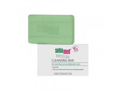 Sebamed Cleansing Bar, Στέρεο Kαθαριστικό για Πρόσωπο και Σώμα, 100gr