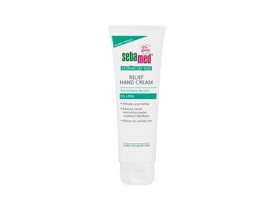Sebamed Extreme Dry Skin Relief Hand Cream 5% Urea, Κρέμα Χεριών με Ουρία για άμεση ενυδάτωση, 75ml