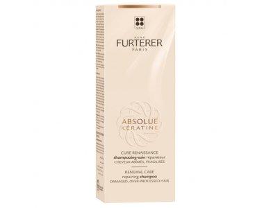 Rene Furterer Absolue Keratine-Renewal Care Repairing Shampoo, Σαμπουάν για Ευθραύστα & Κατεστραμένα Μαλλιά, 200ml