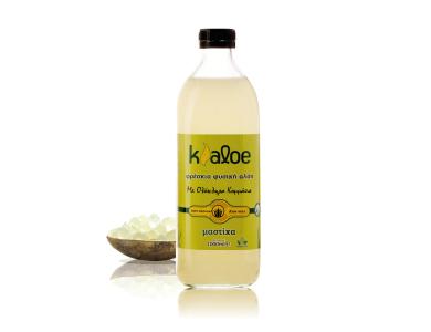 Kaloe Aloe Vera Gel Mastixa, Βιολογικό Τζελ Αλόης με Γεύση Μαστίχα, 1000ml