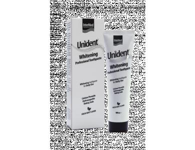 InterMed Unident Whitening Professional Toothpaste, Λευκαντική Οδοντόκρεμα, 100ml