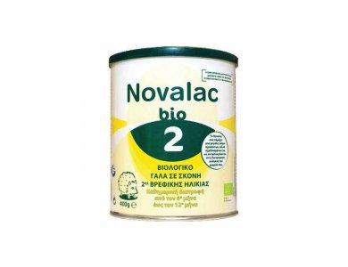 Novalac Bio 2 Βιολογικό Γάλα σε Σκόνη 2ης Βρεφικής Ηλικίας από τον 6ο ως 12ο μήνα, 400gr